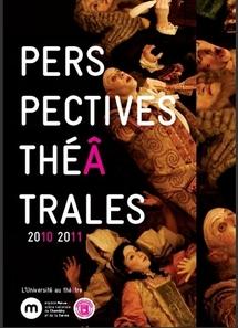 Perspectives théâtrales. Université de Savoie.