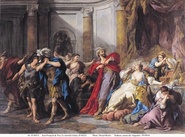 De Lebrun à Van Loo, théâtre, passions et peinture par Noémie Courtès.