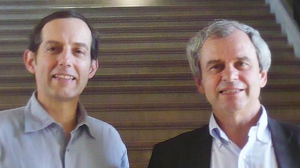 MM. Pierre Jugie et Jérôme de La Gorce