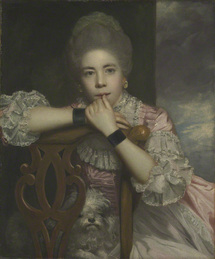 Frances Abington as Prue in Love for Love by Sir Joshua Reynolds, 1771 ©Yale Center for British Art. Paul Mellon Collection