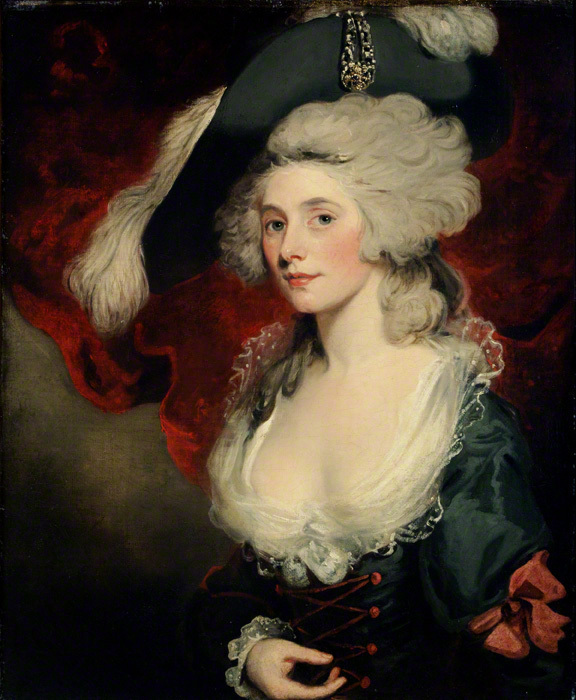 Mary Robinson as Perdita by John Hoppner, 1782 Chawton House Library, Hampshire