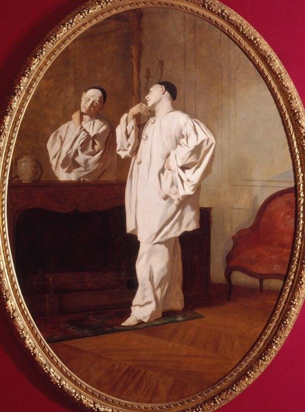 Jean Pezous, (1815-1885) Le Mime Charles Deburau (1829-1873) en costume de Pierrot, 1850 Paris, musée Carnavalet ©Musée Carnavalet/Roger-Viollet