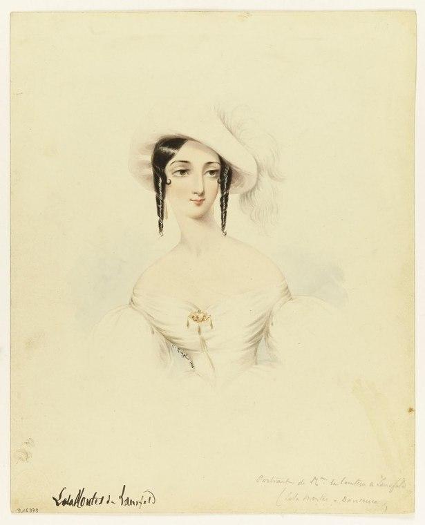 Camille Roqueplan, (1802-1855) Lola Montès (1821-1861), 1846 Paris, musée Carnavalet © Musée Carnavalet  Roger-Viollet