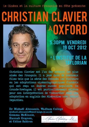 Christian Clavier à Oxford!