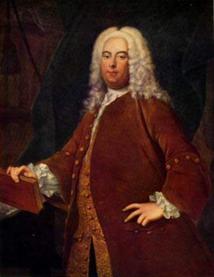 Georg Friedrich Händel, by Thomas Hudson / Wikicommons
