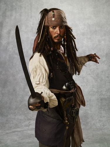 Pirates of the Caribbean: At World's End, Walt Disney Pictures/The Kobal Collection, 2007. (c) Walt Disney Pictures/The Kobal Collection . Hollywood Costume sponsored by Harry Winston.
