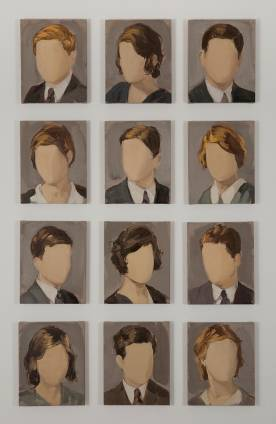 Class of 1931, 2013. Courtesy Galerie Karsten Greve Paris