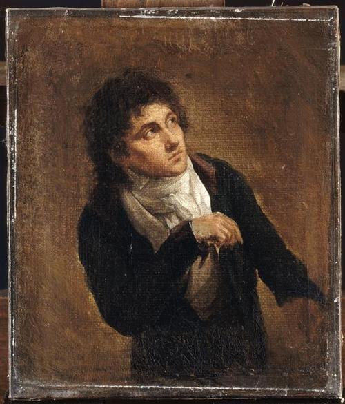 François-Joseph Talma par Louis Léopold Boilly