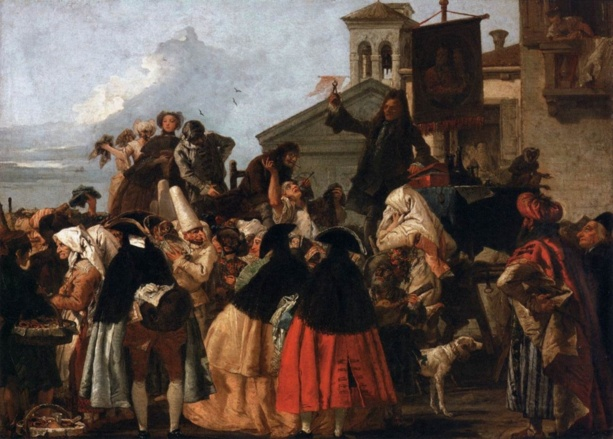 APPEL A COMMUNICATION : Théâtre et charlatans aux XVIIe et XVIIIe siècles,  un art de la mise en scène ?