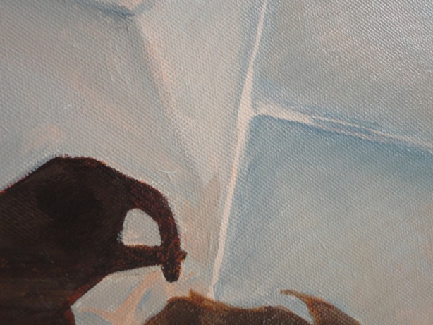 Painting: Shadow 1 (Sabine Chaouche)