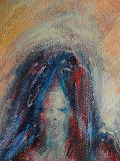 Painting: Origines 2 (Sabine Chaouche)