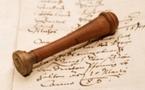 TP. CF. 1726. Règlement pour les postes de la Comédie-Française (8 mai 1726).
