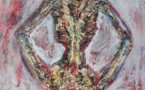 Painting: Bones 4 (Sabine Chaouche)