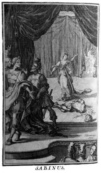 Passerat, 'Sabinus', Œuvres de Monsieur Passerat, La Haye, 1695 CESAR UOID 369471