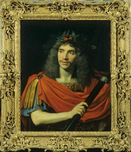 Molière dans le rôle de César (La Mort de Pompée,  Corneille) / Nicolas Mignard (I 260)  © Patrick Lorette / Comédie-Française