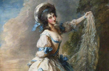 Giovanna Baccelli by Thomas Gainsborough, exhibited 1782 © Tate, London 2011