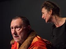 """Guy Didier (Cosroès) et Muriel Arnould (Syra), """"Cosroès"""", 2012 (c) Le Studiolo"""