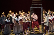 La Muette de Portici (Masaniello- Michael Spyres) DR E. Carecchio (c) Opéra Comique