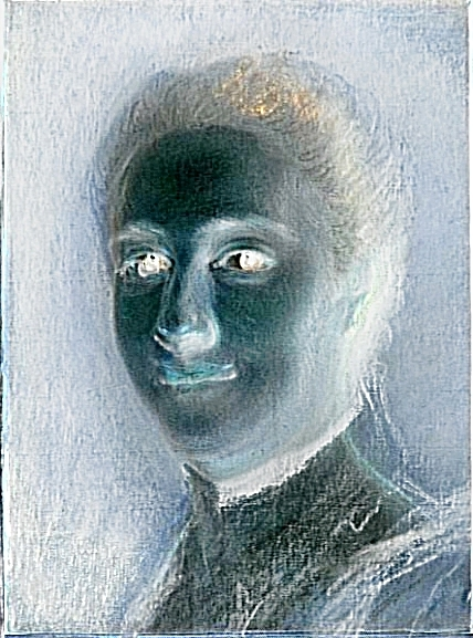 Le Théâtral au naturel. Les portraits d'acteurs de Maurice Quentin de La Tour. N°1 - Mlle DUMESNIL - Par Sabine Chaouche