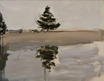 Untitled (Tree Reflection), 2013. Courtesy Galerie Karsten Greve Paris.
