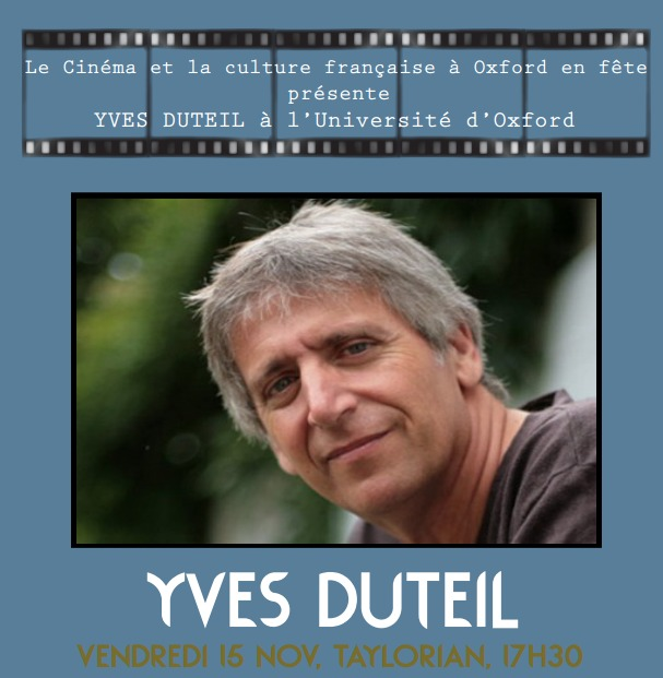 Yves Duteil à Oxford, 15th November