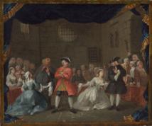 W. Hogarth, The Beggar Opera, wikicommons