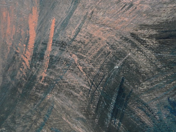 Painting: Shadow 3 (Sabine Chaouche)