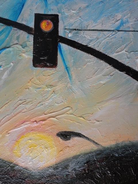 Painting: LA (Sabine Chaouche)