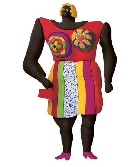 Dolorès, 1968-1995, 550 cm, Résine peinte / grillage, Sprengel Museum, Hanovre,© 2014 Niki Charitable Art Foundation, All rights reserved.