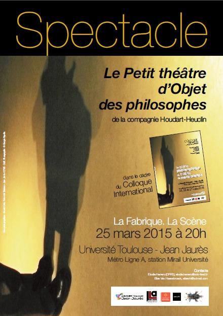Conférence: La scène philosophique du théâtre de marionnettes