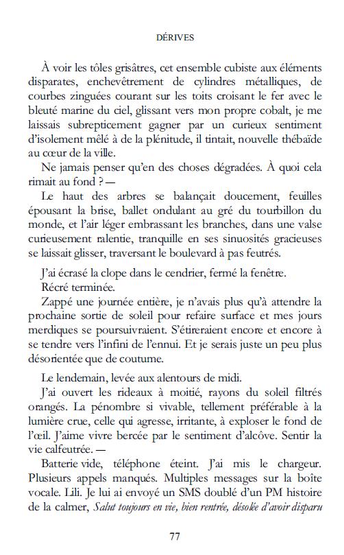Dérives. Roman par SaCha.