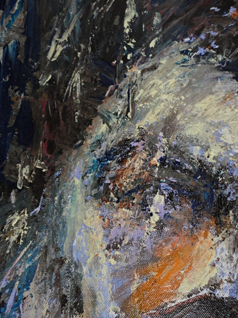 Painting: Him 2 (Sabine Chaouche)