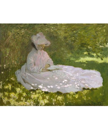 Claude Monet, La Liseuse, Baltimore, The Walters Art Museum © The Walters Art Museum, Baltimore