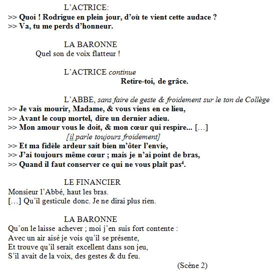 UNITIPS - Introduction aux études sur le jeu et la déclamation, 2. Par Sabine Chaouche.
