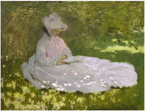 Claude Monet, La Liseuse, Baltimore, The Walters Art Museum © The Walters Art Museum, Baltimore - See more at: http://www.grandpalais.fr/fr/evenement/paul-durand-ruel-le-pari-de-limpressionnisme#sthash.z3zytHBO.dpuf