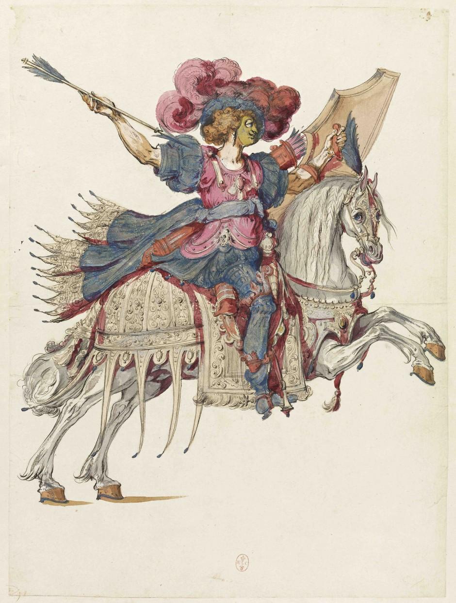 Exposition et parution: Fastes de cour au XVIIe siècle. Les costumes de Bellange et Berain