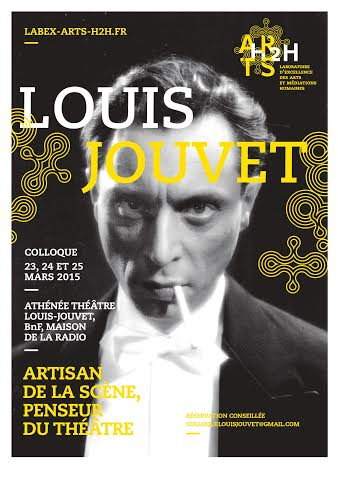Conférence: Louis Jouvet, artisan de la scène, penseur du théâtre