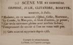 A paraître bientôt...La Mise en scène du répertoire à la Comédie-Française (1680-1815), 955 p. Par Sabine Chaouche