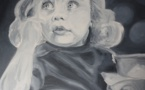 Painting: Little Girl (Sabine Chaouche)