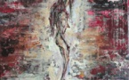 Painting: Bones 3 (Sabine Chaouche)